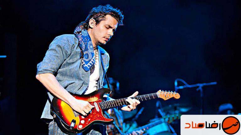 بررسی گیتار فندر fender stratocaster review جان مایر
