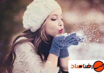 عکاسی در برف محیط